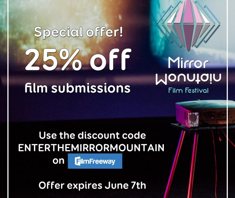 25% off film submissions