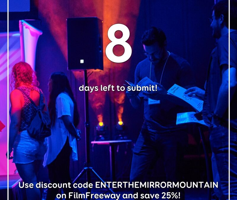 8 days left to submit!